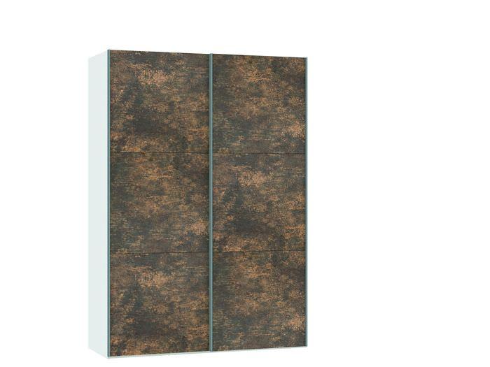 Judine Ferro Schuifdeurkast Brons/Wit 152.2 cm.