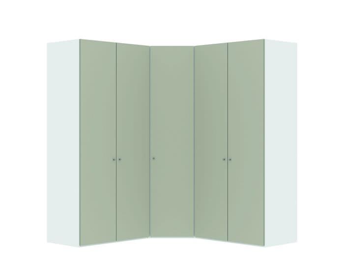 Judine Manda Hoekkast Ecru/Wit 5 deurs