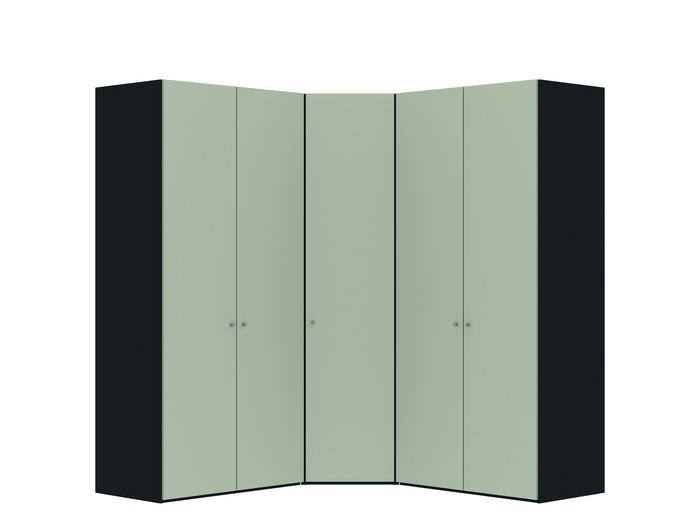 Judine Manda Hoekkast Ecru/Zwart 5 deurs