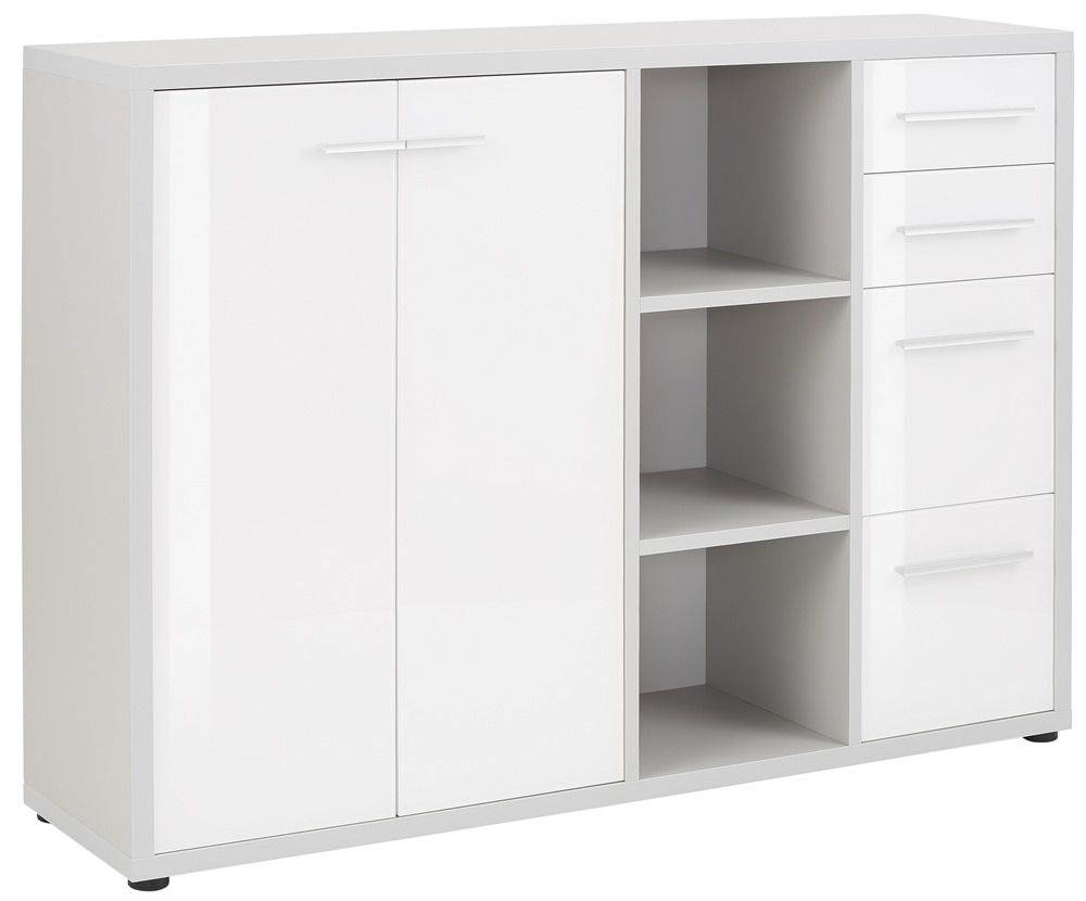 Maja Moebel Set+ Dressoir Large Lichtgrijs/Wit