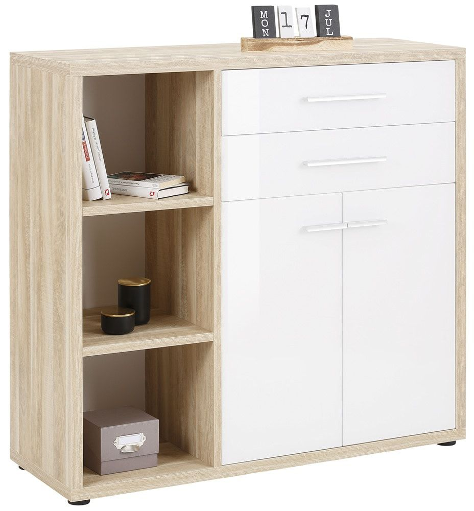 Maja Moebel Set+ Dressoir Small Naturel Eiken/Wit