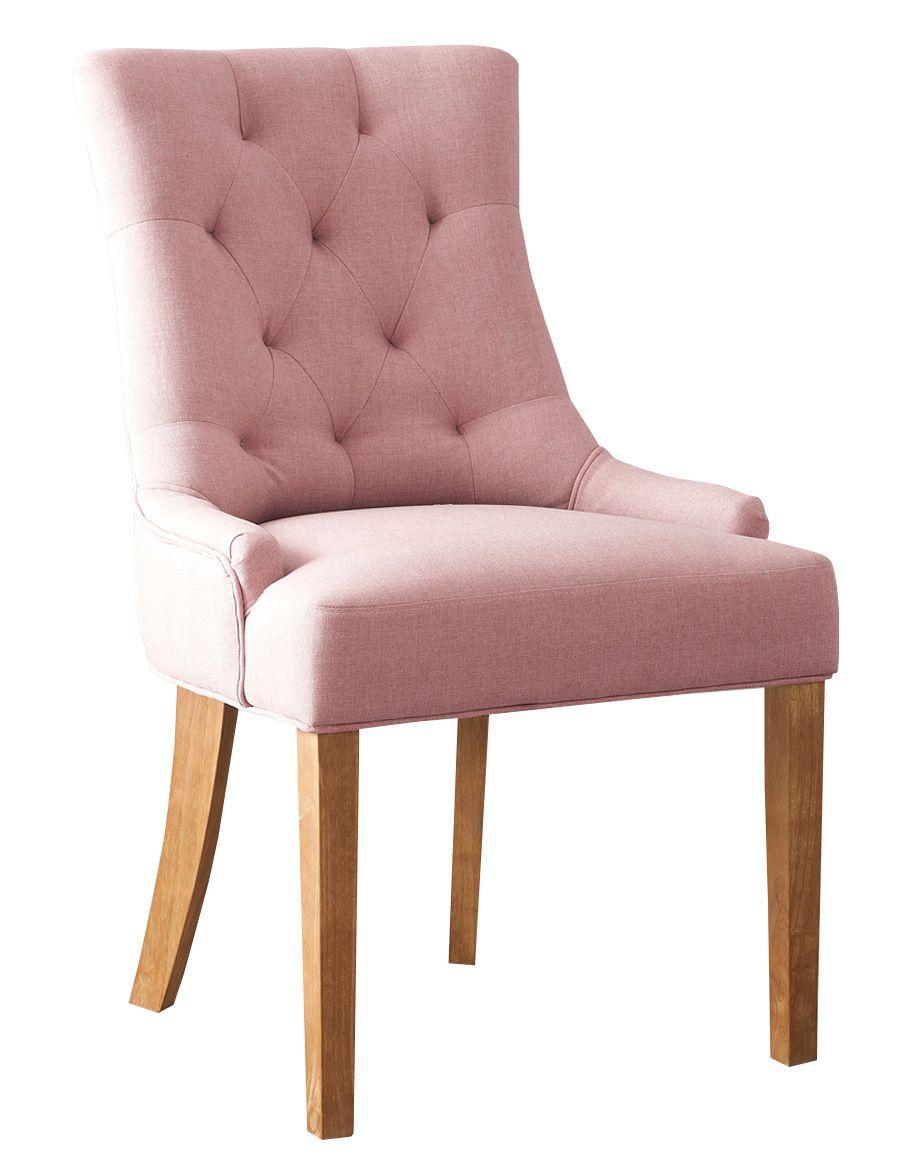 Monaica Fancy Eetkamerstoel Roze