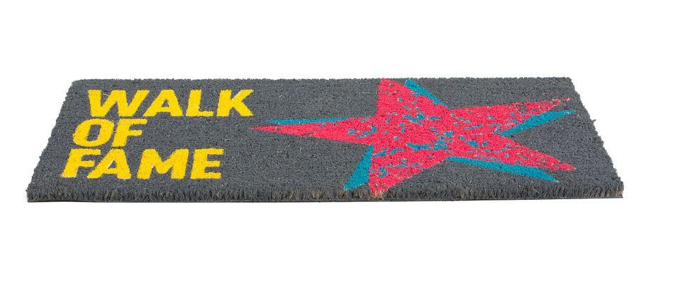 Obsession Deurmat Mats Walk Of Fame Grafiet