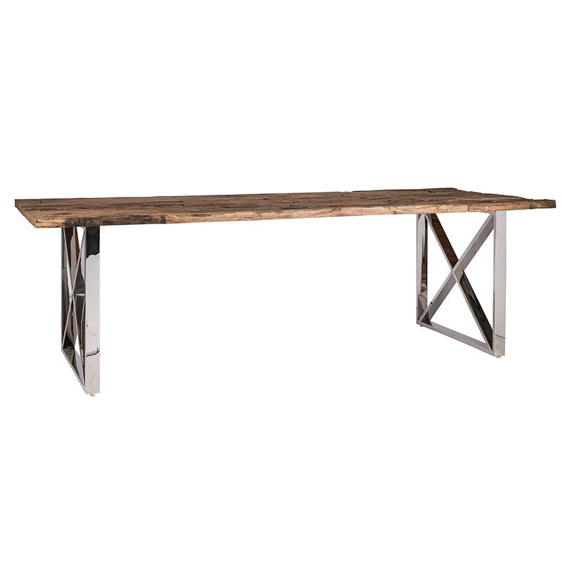 Richmond Interiors Kensington Eettafel 240 cm.+Glasplaat