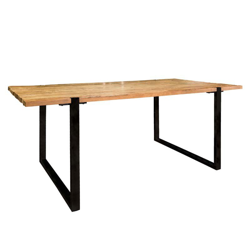 Richmond Interiors Maddox Eettafel Industrial 200 cm.