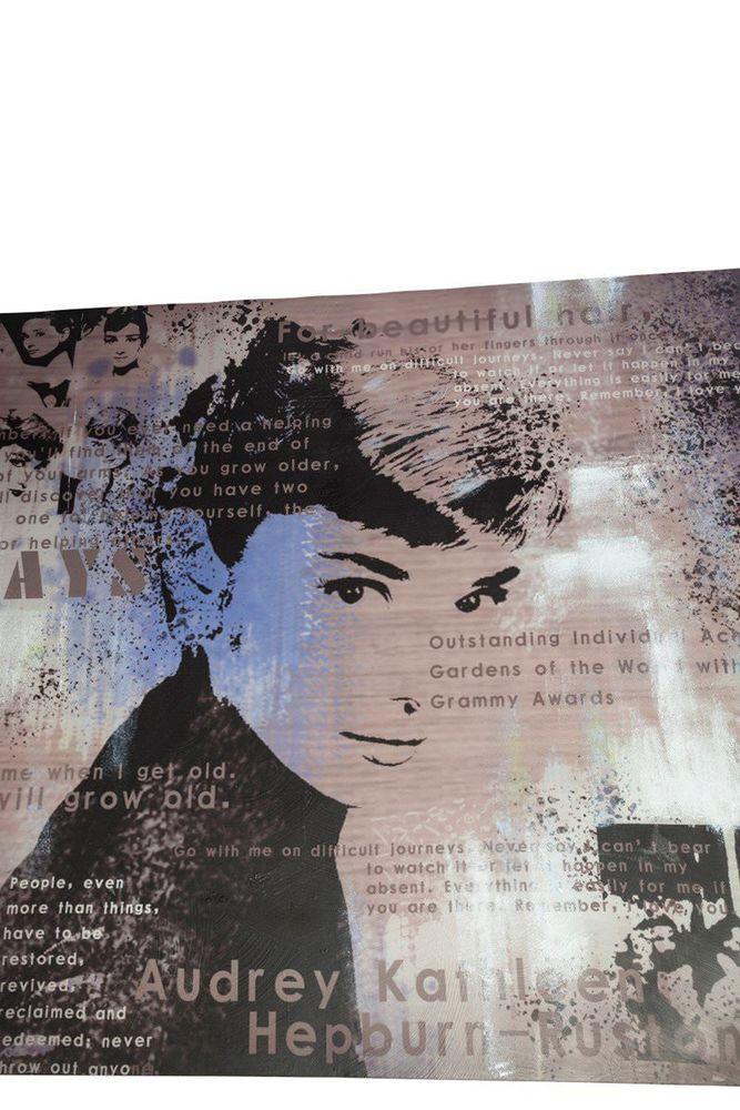Bondy Living Audrey Hepburn Schilderij