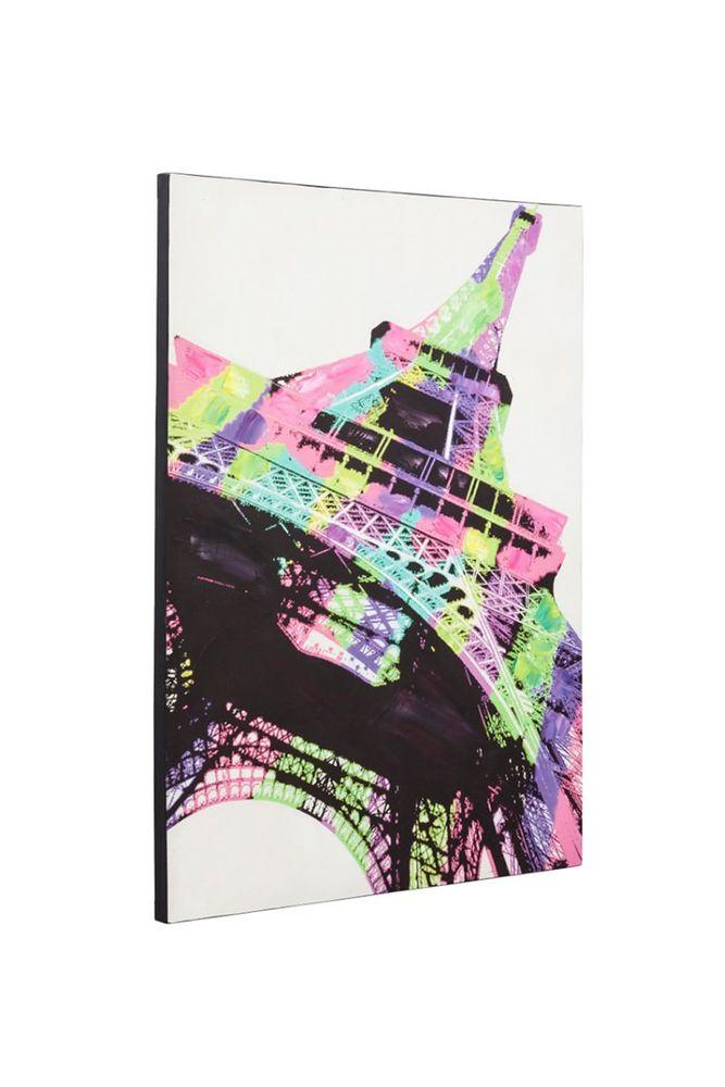 Breng de romantische sfeer vanparijsin jewoonkamermet ditmooie schilderijvan deeiffeltoren. dit ...