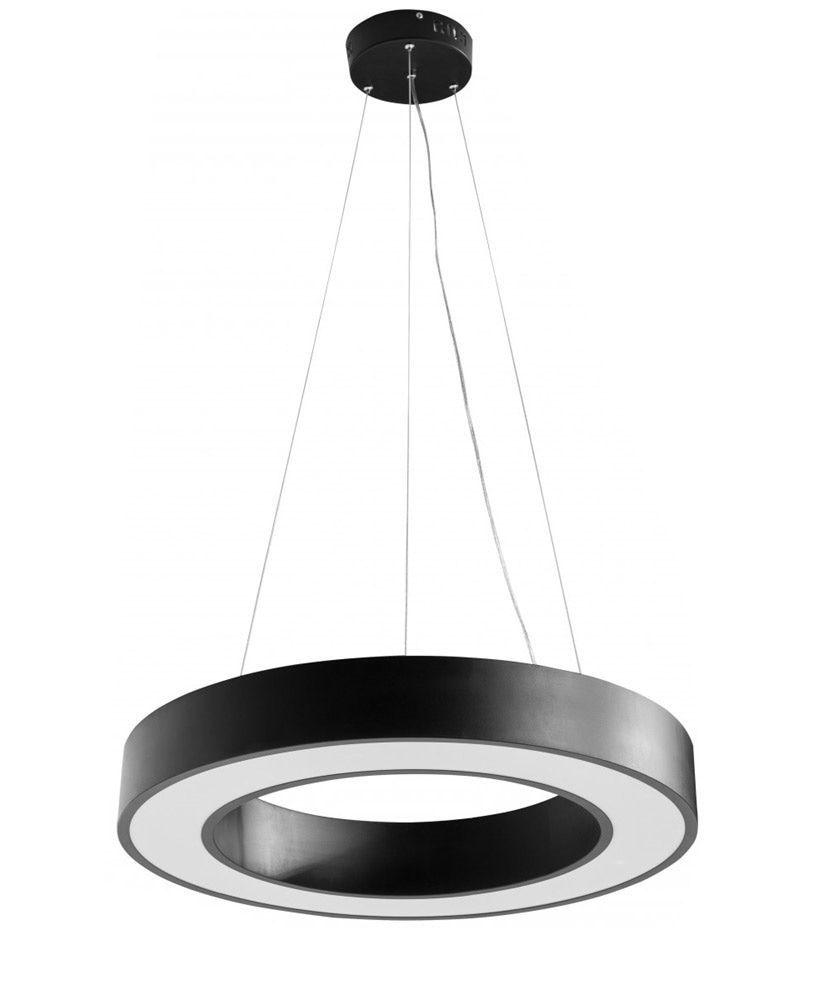 Sky Style Circle Led Hanglamp Zwart