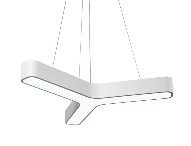Sky Style Line Led Hanglamp Wit