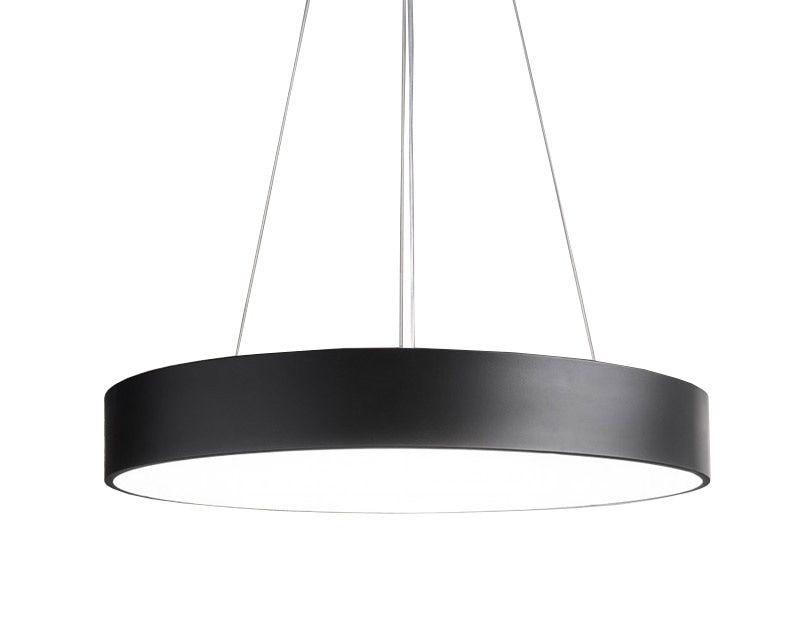 Sky Style Round Led Hanglamp Zwart