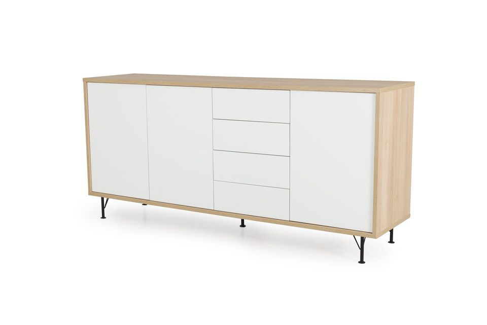 Tenzo Flow White Dressoir Large