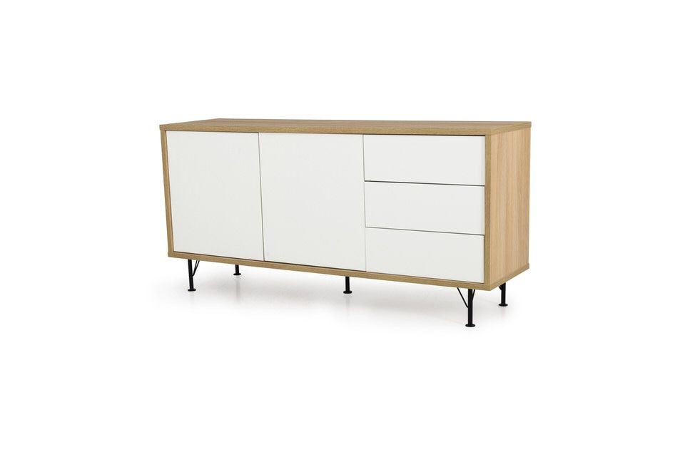 Tenzo Flow White Dressoir Small