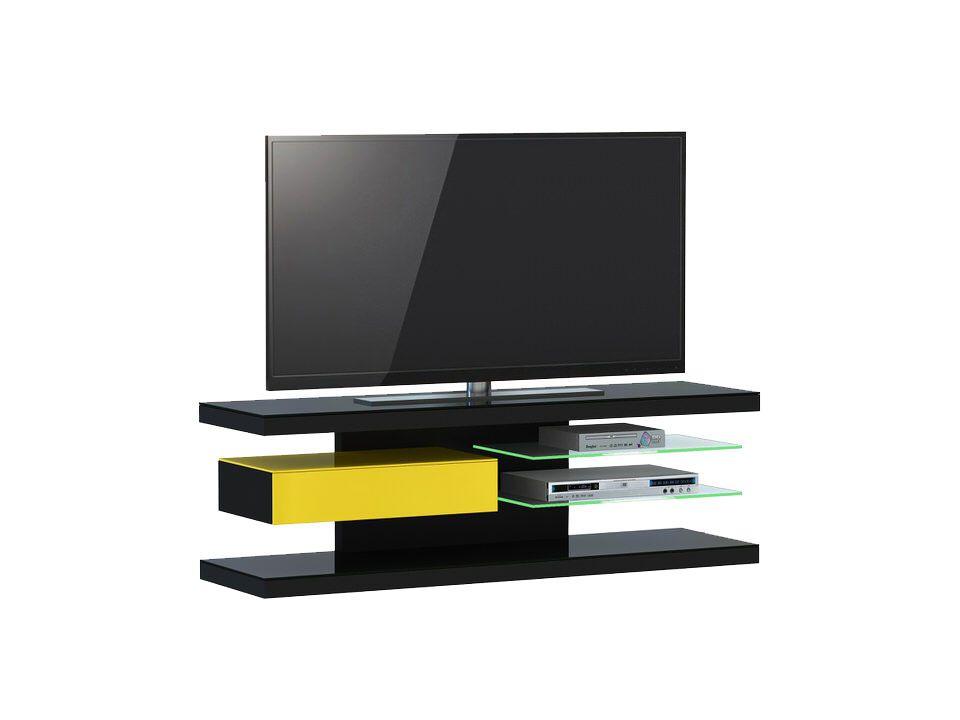 jahnke moebel tv meubel sl 660 led zwart jahnke moebel in de aanbieding kopen. Black Bedroom Furniture Sets. Home Design Ideas