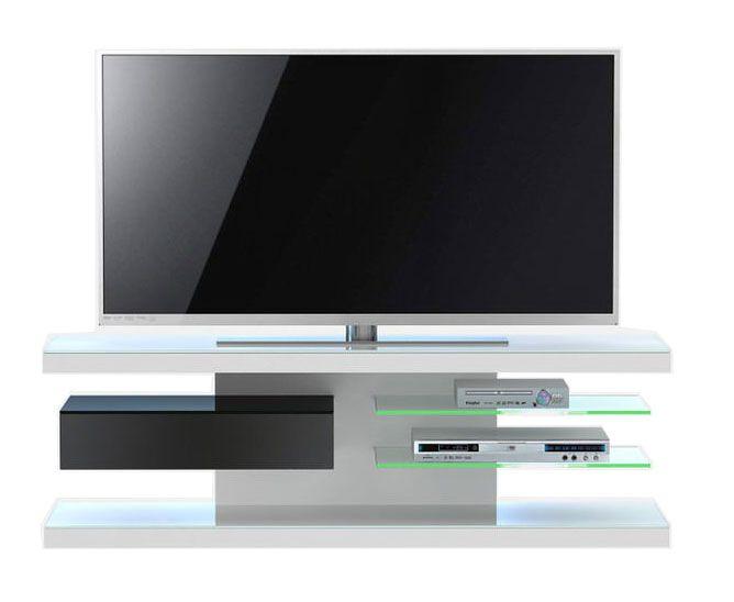 Jahnke Moebel TV meubel SL 660 LED Wit/Zwart
