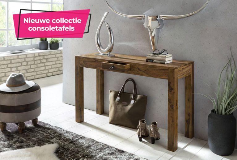 Consoletafels - Trendymeubels.nl