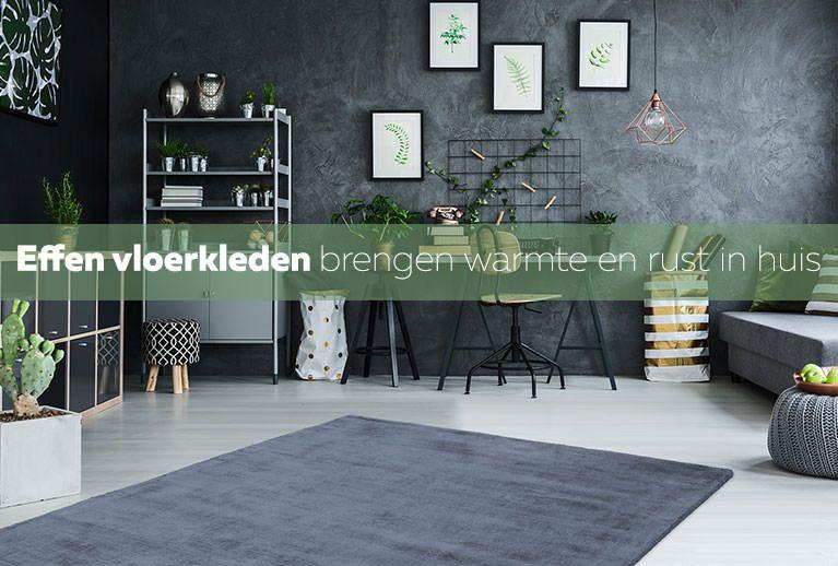 Effen vloerkleden - Trendymeubels.nl
