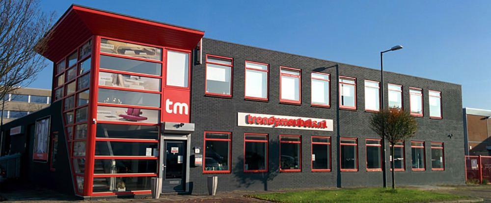 De showroom van Trendymeubels.nl in Schiedam